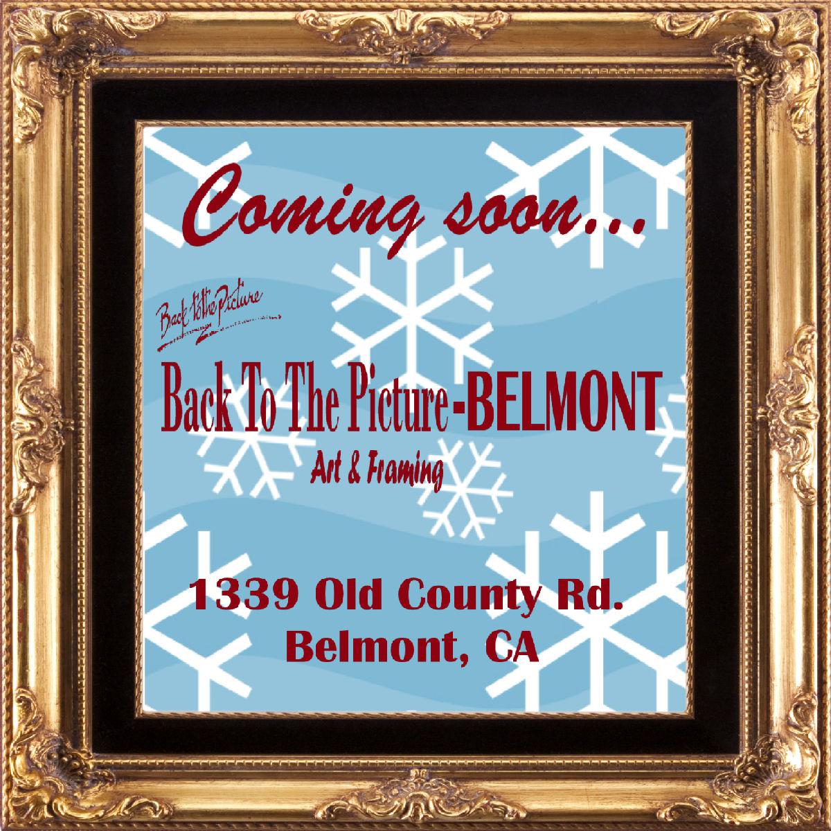 Belmont, California New Store, Fine Custom Picture Framing