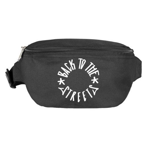Classic Logo Hip Bag - black