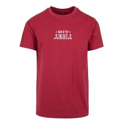 Letters T-Shirt – burgundy Back To The Streets