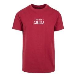 Letters Shirt - burgundy