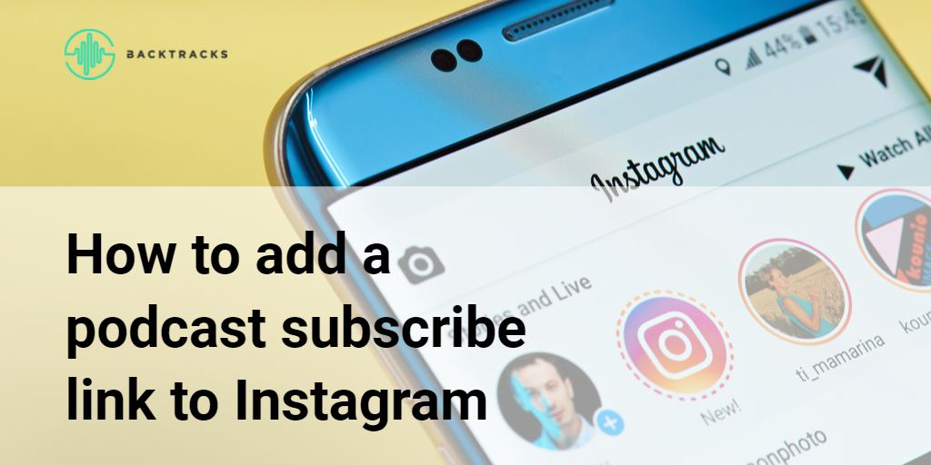 How to add a podcast subscribe link to Instagram article image