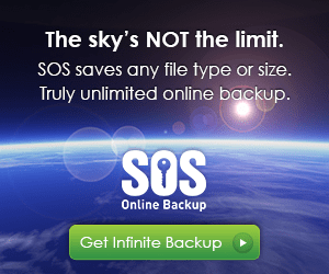 sos online backup unlimited