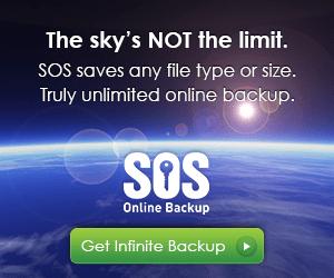 sos online backup unlimited