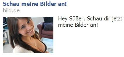 Werbung mit bild.de als Absender (Quelle: backview.eu)