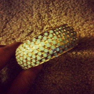 Gold Bangle from TJ Maxx