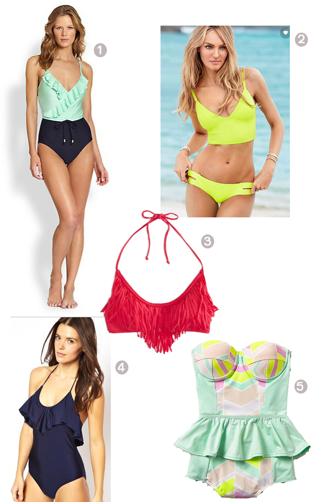 Summer 2014 Swimsuit Fashion Trends