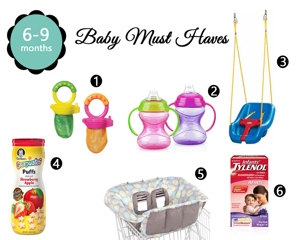 6 9 Months Baby Must Haves