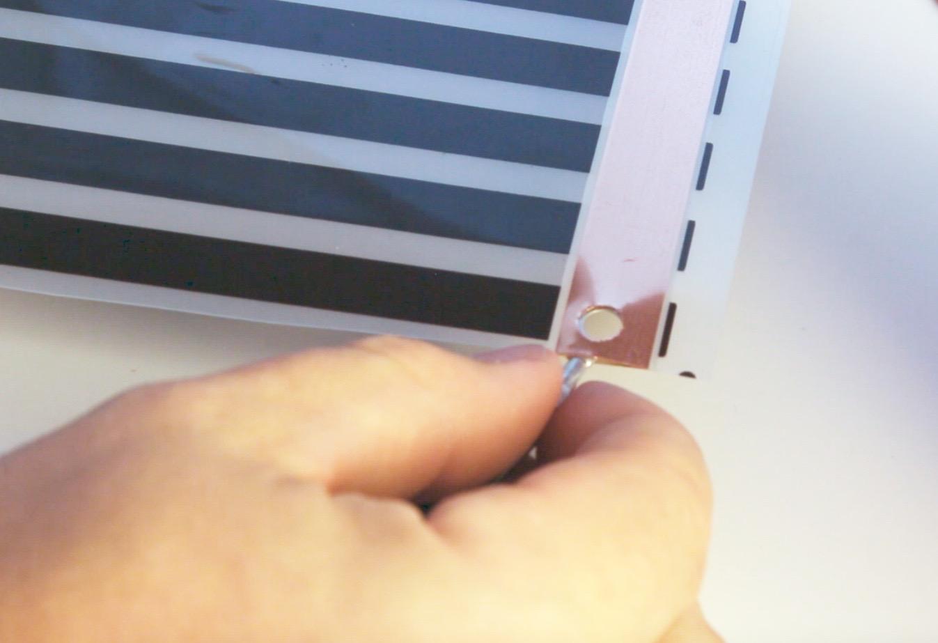 How To Install Reptile Heat Tape Wiring Flexwatt Step Two