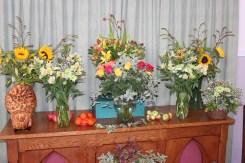 Flower display.