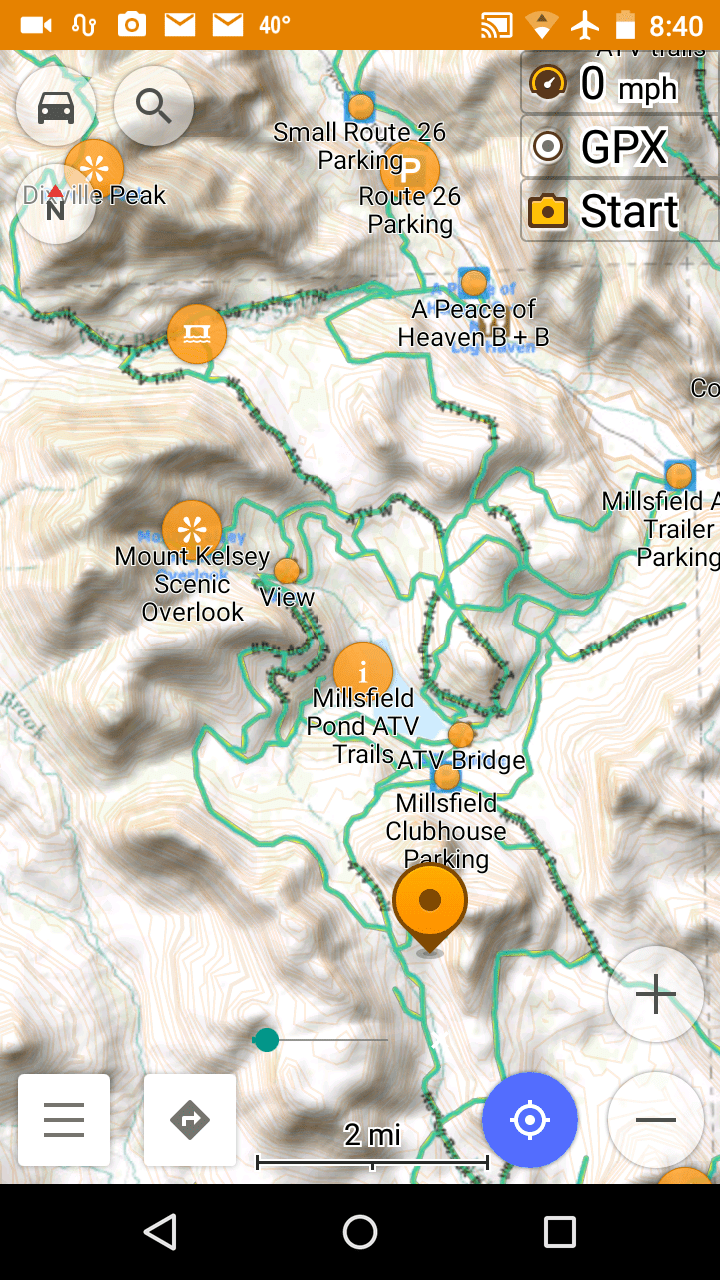 Atv Trail Maps For Android Phones And Tablets Backwoodsgpstrails Com