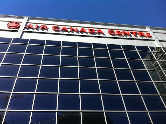 Air Canada Centre, Toronto, Ontario. Home of the Toronto Raptors!