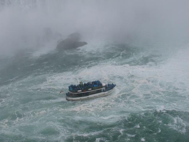 Cold, cold day at Niagara Falls!