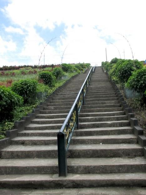 Got a workout climbing 70+ stairs!