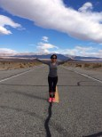 A standing in the middle of the road bucket list photo