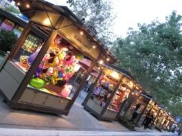 Kiosks are all around The Americana!
