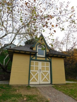 Carriage Barn - built in 1899 on the grounds where the Huntington Memorial Hospital in Pasadena now stands