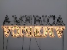 Double America 2 by Glenn Ligon