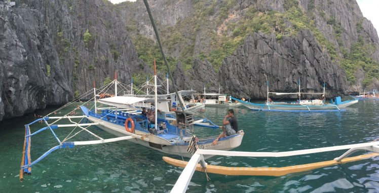 El Nido Island Hopping Tour A, Secret Lagoon, Palawan