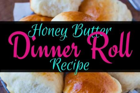 Honey Butter Dinner Roll Recipe, Dinner Roll, Homemade Dinner Roll, Honey Butter Rolls, Backyard Eden, www.backyard-eden.com, www.backyard-eden.com/honey-butter-dinner-roll-recipe
