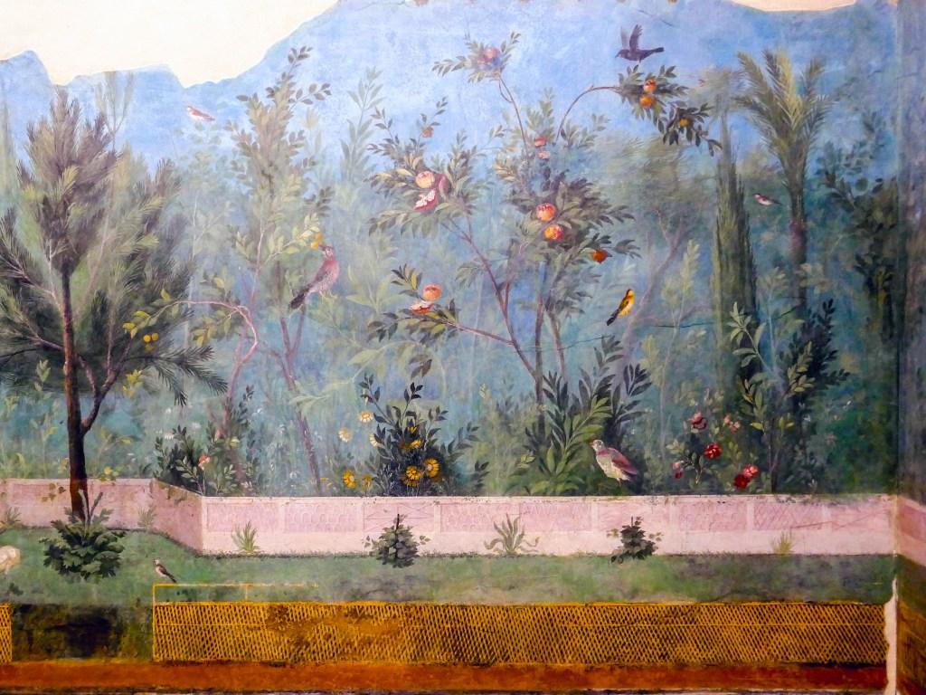 Livia's garden fresco.