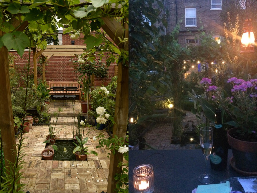 Monty Don's Paradise Gardens: My Paradise garden in Camberwell, during the day and in the evening.