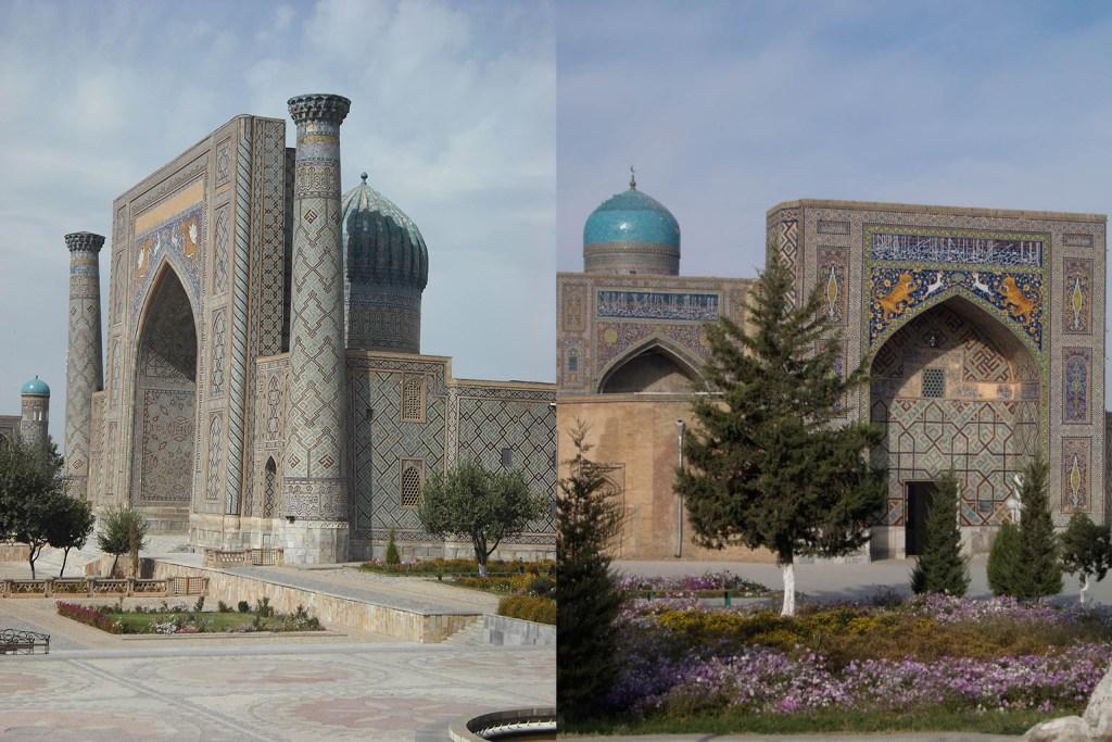 Registan Square, Samarkand.