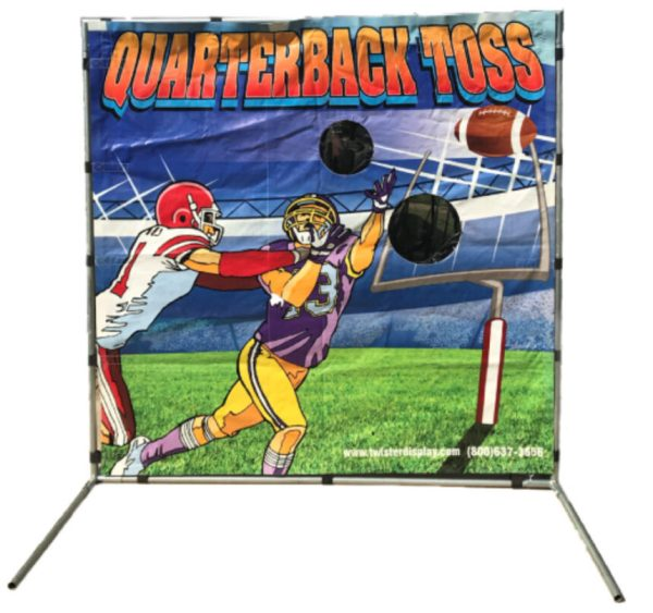 Quarterback Toss - Football Carnival Game | BYB Event & Party Services