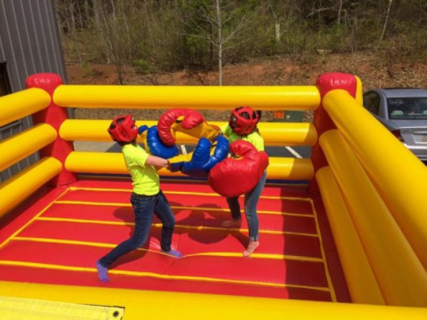 College and School Events - Inflatable Boxing Ring