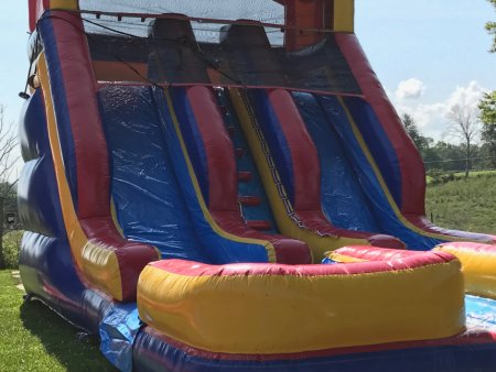 dual-lane-race-inflatable-water-slide-rental