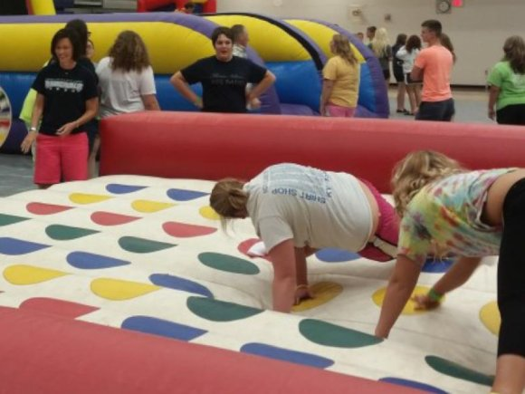 College and School Events - Inflatable Twister