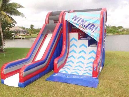 Inflatable Ninja Wall