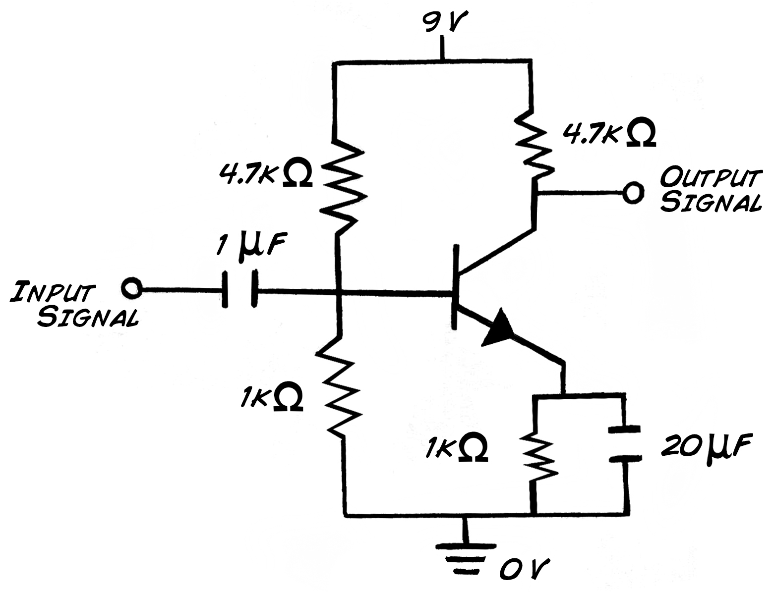 Single Transistor Circuit This Type Of Circuit Controls