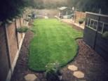 Shaped lawn