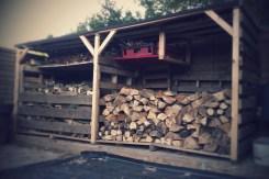 Wood store #1 bays