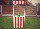 Completed carnival stall