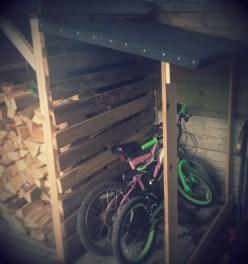 Bike shed begins