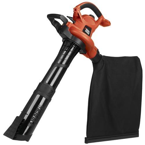 BLACK+DECKER 3-in-1 Electric Leaf Blower, Leaf Vacuum