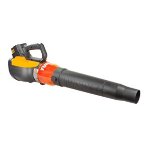 WORX Turbine 56V Cordless Blower with Brushless Motor WORX Turbine 56V Cordless Blower with Brushless Motor, 125 MPH and 465 CFM Output with Turbo Boost and Variable Speed – WG591.