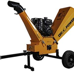 "DK2 Power 14HP 6"" Gas Powered Chipper Shredder"