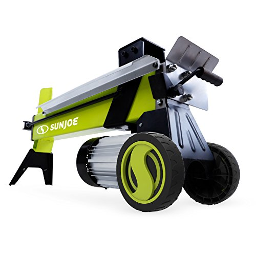 Sun Joe 5-Ton 15 Am Electric Log Splitter w/Hydraulic Ram, Green