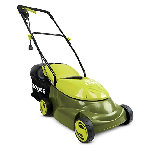 """Sun Joe 14 inch 13 Amp Electric Lawn Mower w/Side Discharge Chute Sun Joe MJ401E-PRO 14 inch 13 Amp Electric Lawn Mower w/Side Discharge Chute, 14""""."""