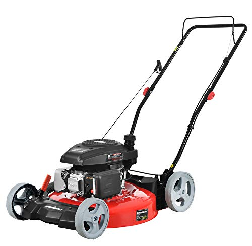 PowerSmart Lawn Mower, Red and Black