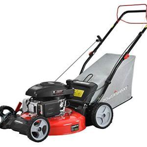 PowerSmart Lawn Mower, Black and red PowerSmart DB2321S Lawn Mower, Black and red.