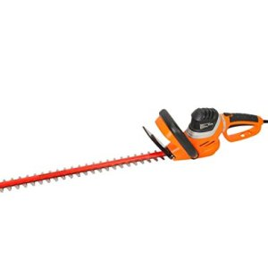 GARCARE 4.8-Amp Corded Hedge Trimmer with Rotating Handle