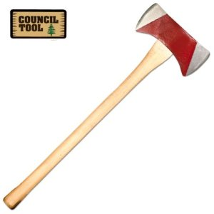Council Tool 3.5 lb Michigan Pattern Double Bit Axe