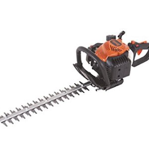 Tanaka 21cc 2-Cycle Gas Hedge Trimmer with 20-Inch Double-Sided Blades