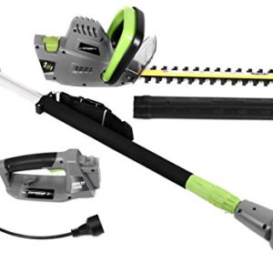 Earthwise Corded 4.5 Amp 2-in-1 Convertible Pole Hedge Trimmer