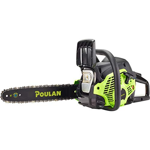 "Poulan 14"" Steel Bar 33CC Gas Chain Saw 2 Cycle"