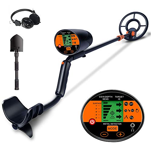 AMYSPORTS Best Professional Gold Metal Detector Waterproof