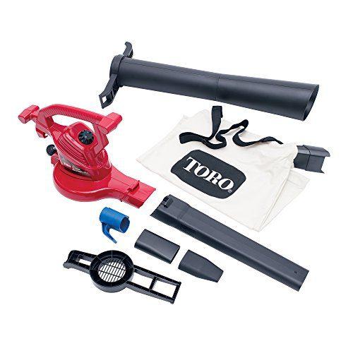 Toro Ultra Electric Blower Vac, 250 mph, Red Toro 51619 Ultra Electric Blower Vac, 250 mph, Red.